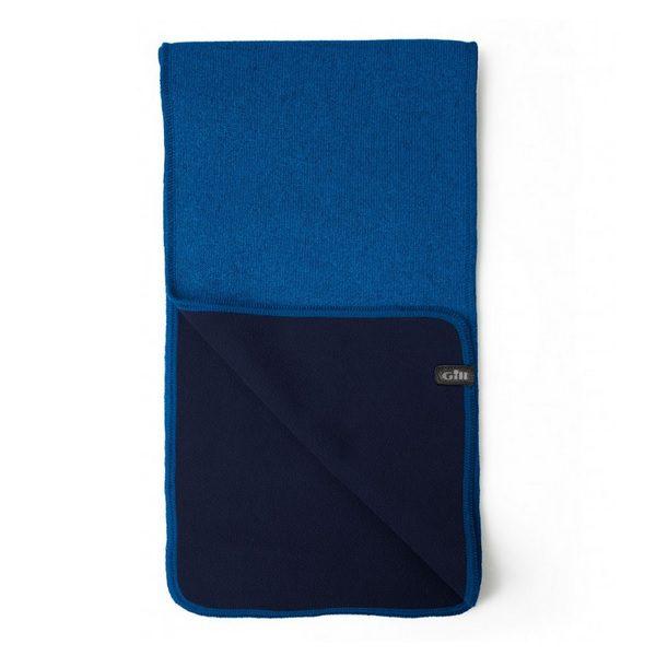 Gill sjaal Knit Fleece 1496 blauw