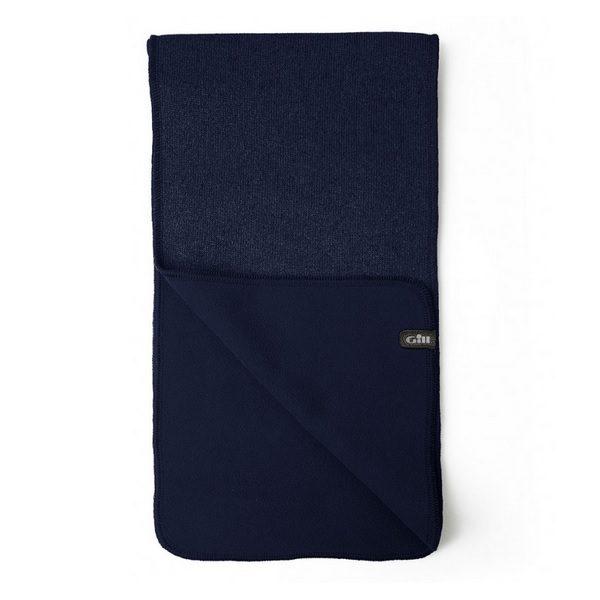 Gill sjaal Knit Fleece 1496 navy
