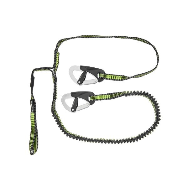 Spinlock 2 clips safety line met cow-hitch