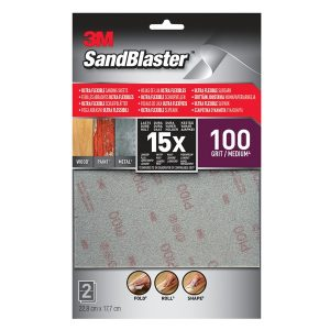 3M Sandblaster Ultra Flexible Schuurvellen 100