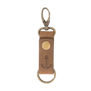 Batela sleutelhanger leer 6018