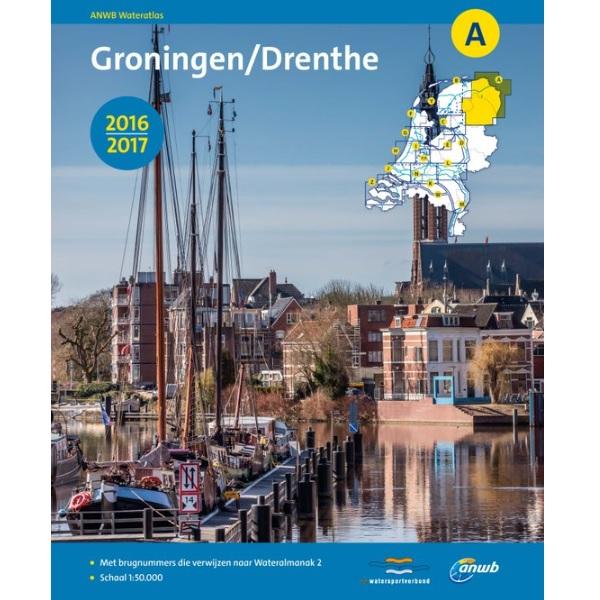 ANWB wateratlas A Groningen Drenthe 2016-2017