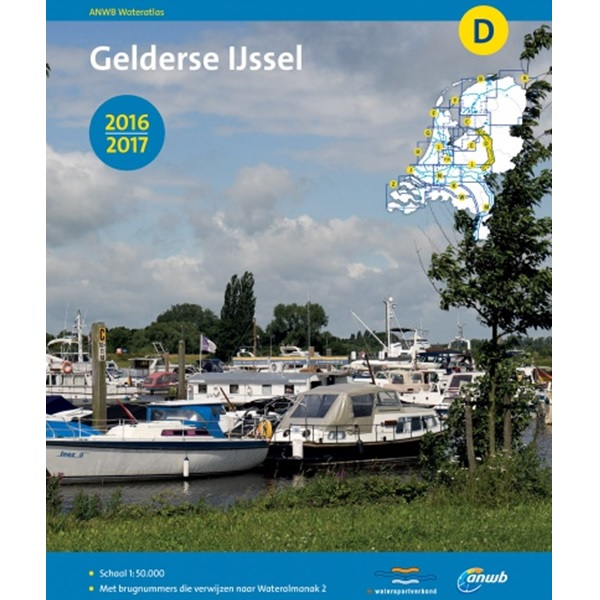 ANWB wateratlas D Gelderse IJssel 2016-2017