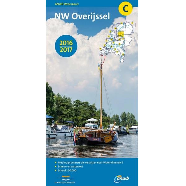 ANWB waterkaart C Overijssel