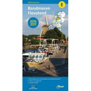 ANWB waterkaart E Randmeren Flevoland