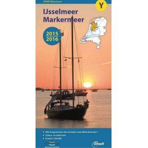ANWB waterkaart IJsselmeer Markermeer