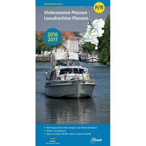 ANWB waterkaart P-R Vinkeveense en Loosdrechtse Plassen