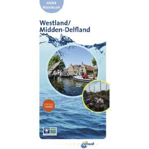 ANWB waterkaart westland middendelfland