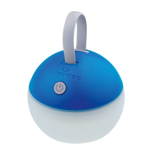 Rubytec Bulb USB Lantaarn blauw