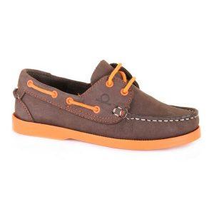 Chatham Henry junior bootschoen bruin/oranje