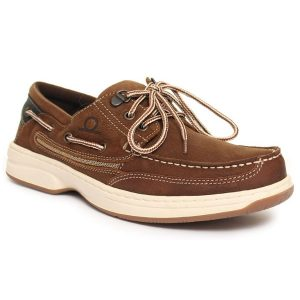 Chatham Pegasus bootschoen brown