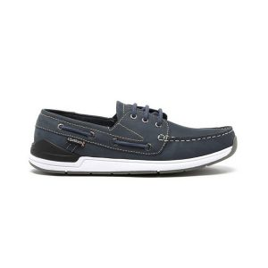 Chatham Fairway navy bootschoen