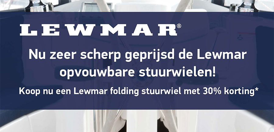 Lewmar Folding Wheel Actie