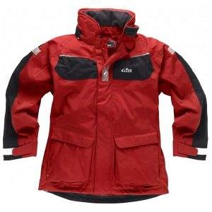 Gill Coast Jacket IN12J rood