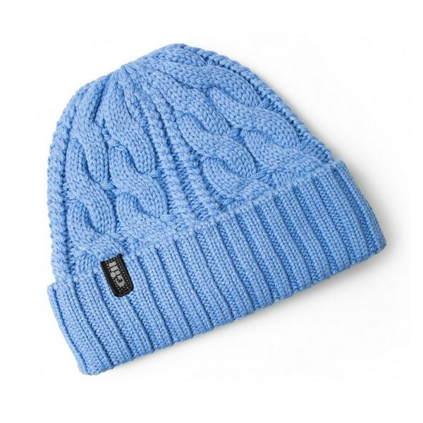 Gill Cable Knit Beanie HT32 blue