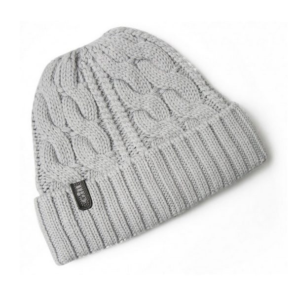 Gill Cable Knit Beanie HT32 grey