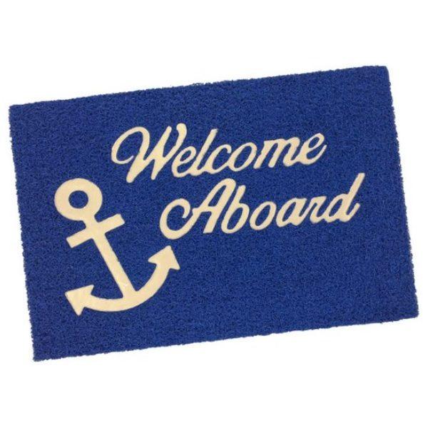 Deurmat Welcome Aboard