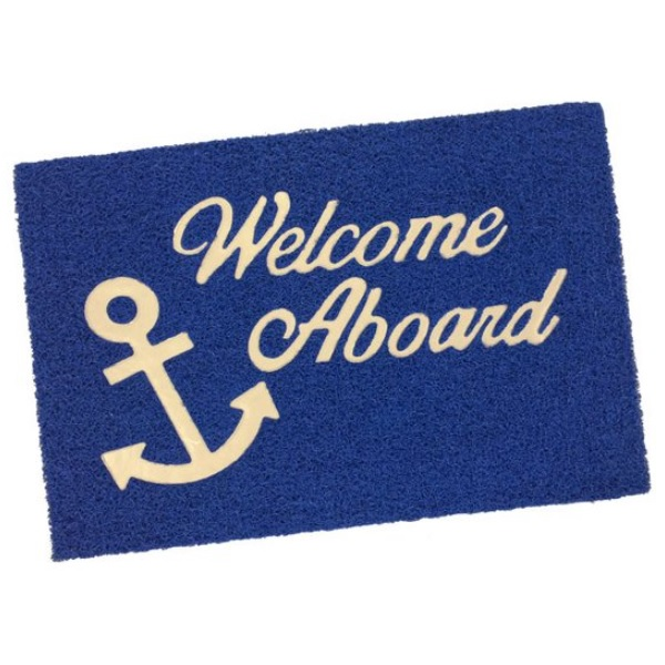 Deurmat Welcome Aboard