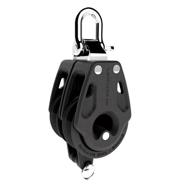 Lewmar Double Blok Synchro Control Met Hondsvot 30mm