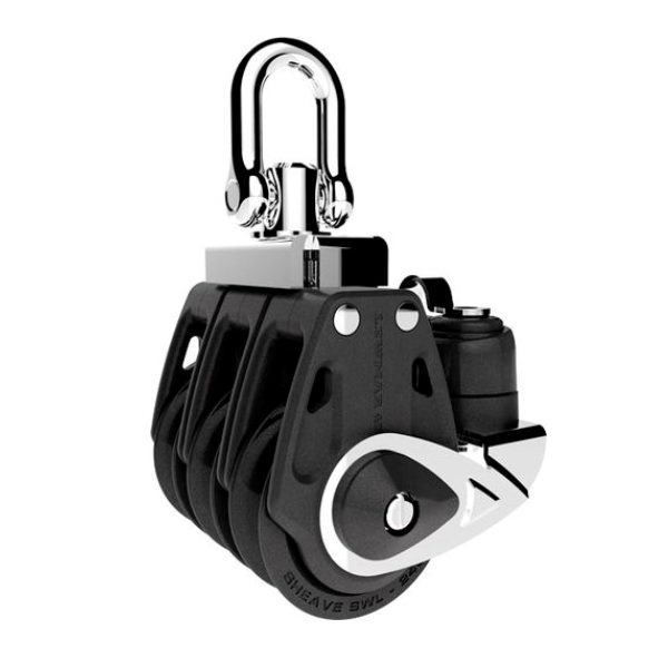 Lewmar Triple Blok Synchro Control Met Klem 30mm