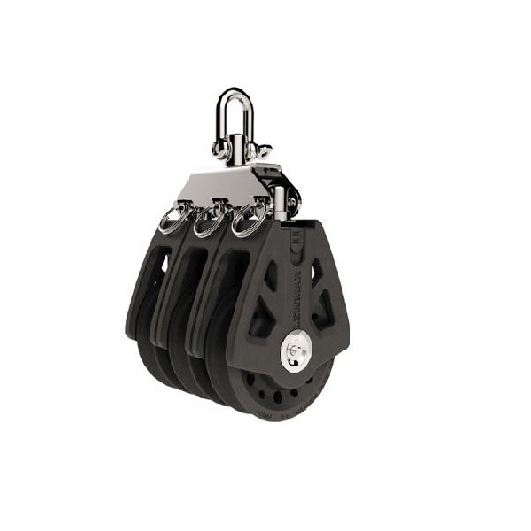 Lewmar Triple Blok 50mm Black