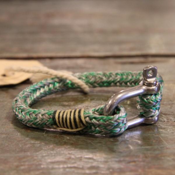 NL armband MegaTwin 6mm groen