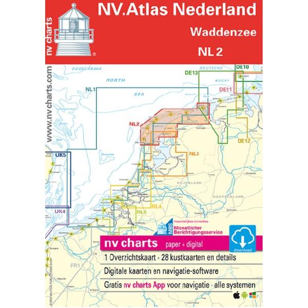 NV ATLAS Nederland Waddenzee NL2