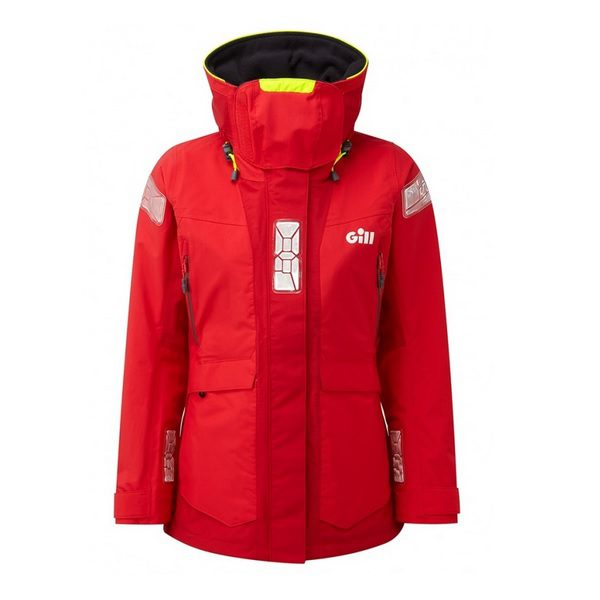 Gill OS24 Jacket Women rood