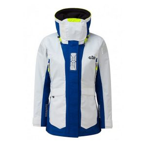 Gill OS24 Jacket Women wit/blauw