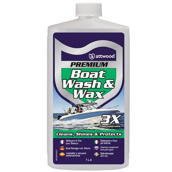 Attwood Premium Boot Shampoo en Wax 1000ml