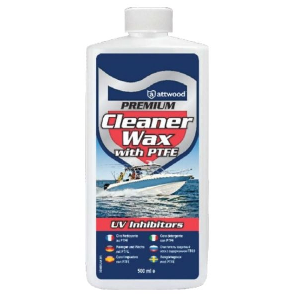 Attwood Premium Cleaner Wax 500ml