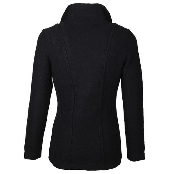 Roosenstein Wolke Caban vest zwart