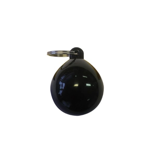 Sleutelhanger Bolfender zwart