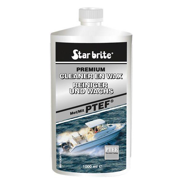 Starbrite cleaner en wax 1000ml
