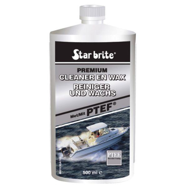 Starbrite cleaner en wax 500ml