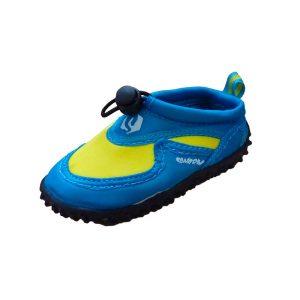 Swarm zwemschoenen junior blauw geel