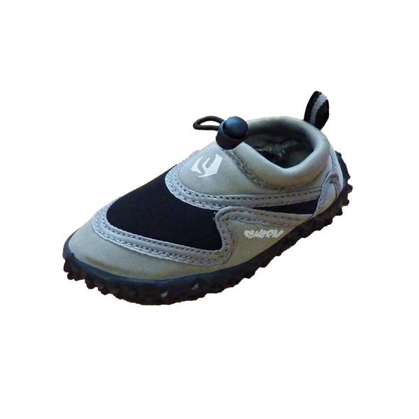 Swarm zwemschoenen junior grijs