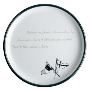 MB dessertbord Welcome on Board 27003