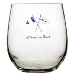 MB waterglas Welcome on Board 27106