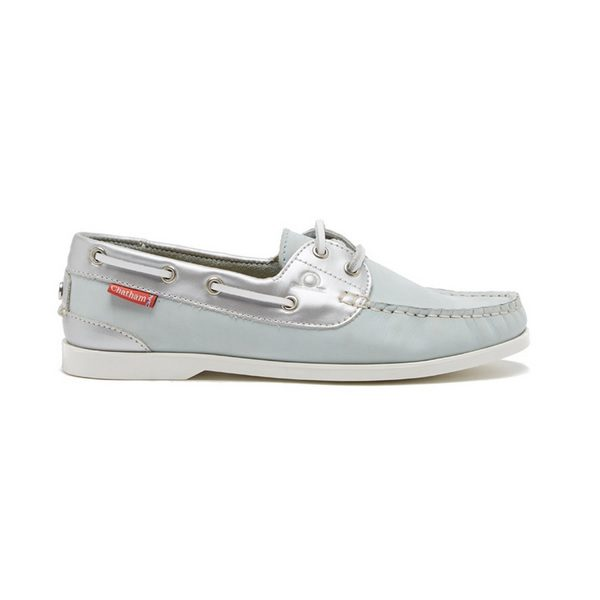 Chatham Willow bootschoen blue/silver
