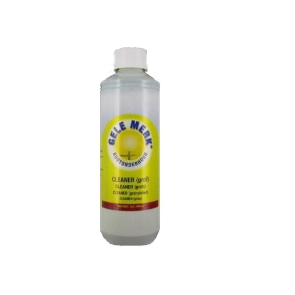 Gele Merk Cleaner polijstmiddel