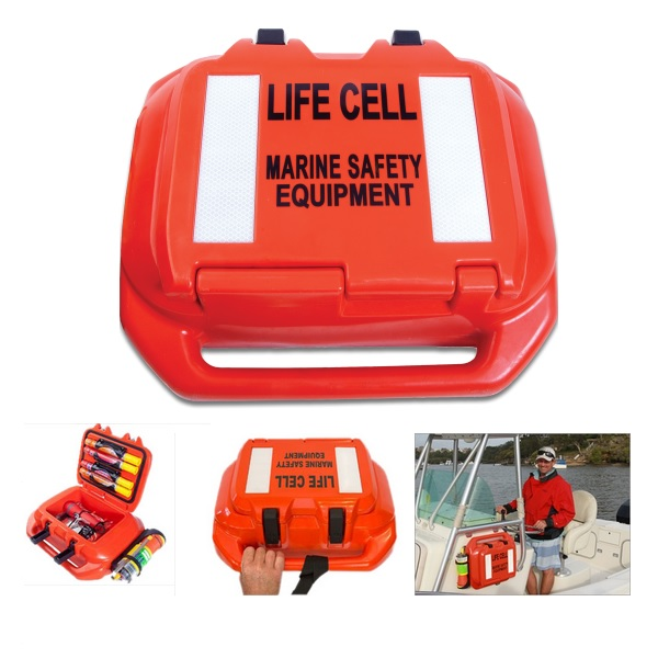 Life Cell trailerboot reddingskoffer drijvend